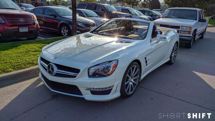 Mercedes SL 63 AMG Roadster - Short Shift-2
