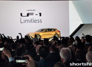 Lexus LF-1 Limitless - Short Shift