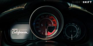 Ferrari California Gauge - Short Shift