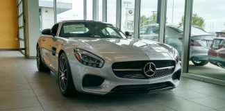Spotted - Mercedes Benz AMG GT S-1